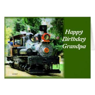 american steam train card