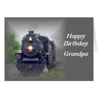 american steamtrain greeting card