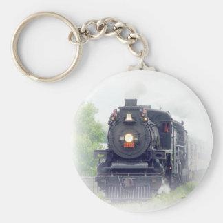 american steamtrain key ring