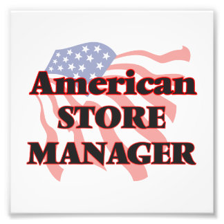 American Store Manager Art Photo