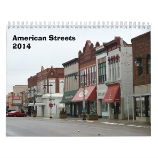 American Streets Calendar - 2014
