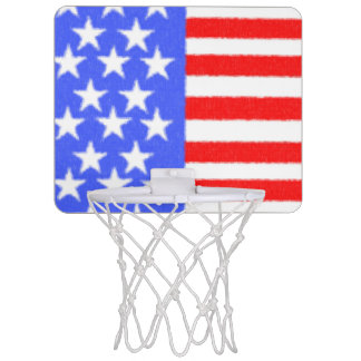 American style-ART fabric Mini Basketball Hoop