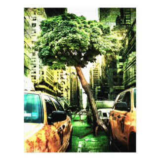 American Style with Taxi 21.5 Cm X 28 Cm Flyer
