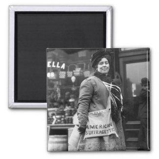American Suffragette, 1910 Magnet