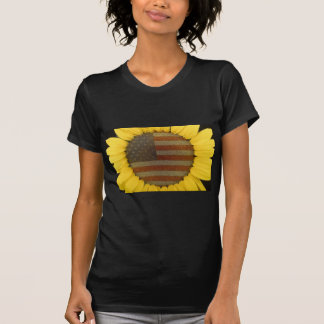 American Sunflower Tshirts