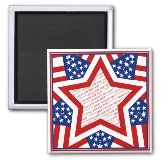 American Super Star Photo Frame Magnets