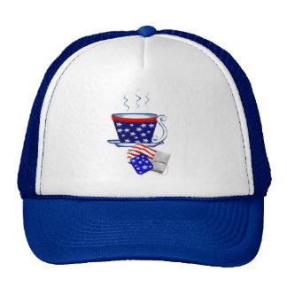 American Tea Cup and Bag Hat