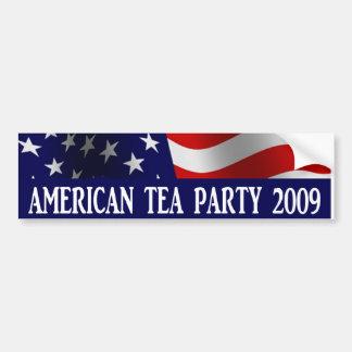 American Tea Party 2009 Bumper Sticker