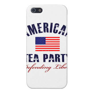 American Tea Party iPhone 5 Cases