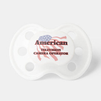 American Television Camera Operator Pacifier