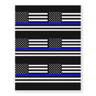 American Thin Blue Line Decor