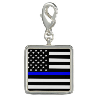American Thin Blue Line Graphic Decor