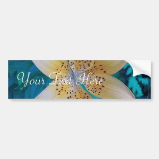 American Tiger Lily Bumper Sticker