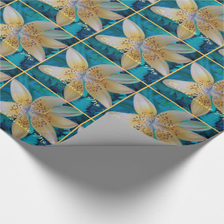 American Tiger Lily Wrapping Paper