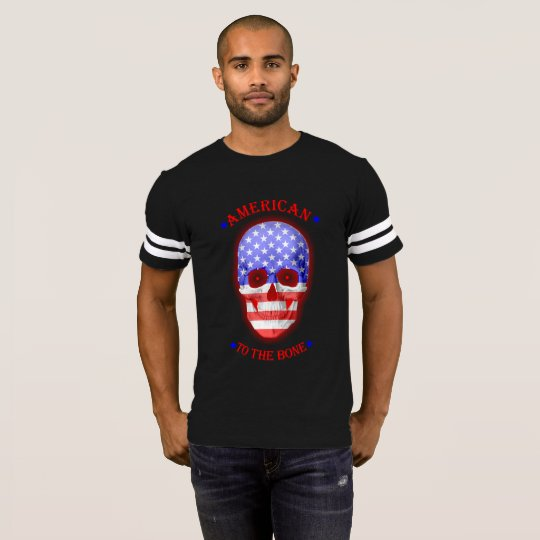 American to the bone fade T-Shirt