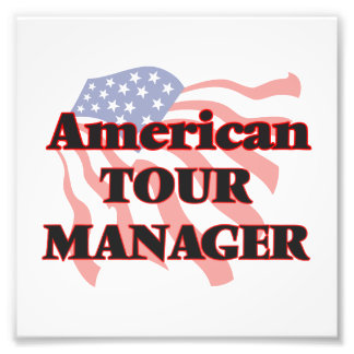 American Tour Manager Photograph