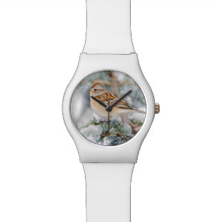 American Tree Sparrow in winter Wristwatches