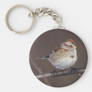 American Tree Sparrow Key Ring