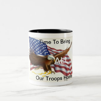 American Troops Coffee Mug