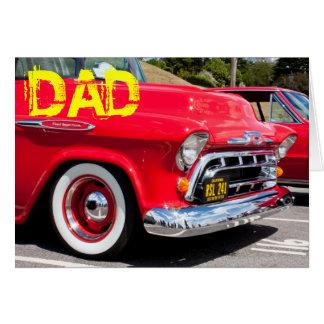 American Truck Birthday Car Card