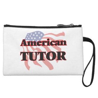 American Tutor Wristlet Clutch