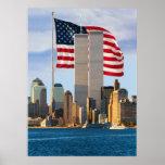 American Twin Towers Print