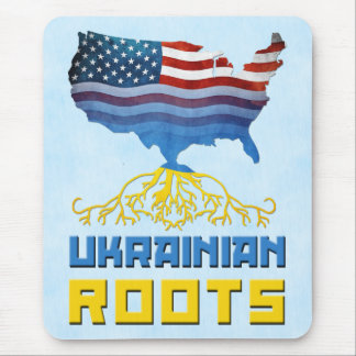 American Ukrainian Roots Mousemat