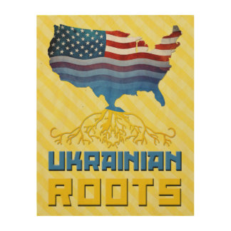 American Ukrainian Roots Wood Canvases