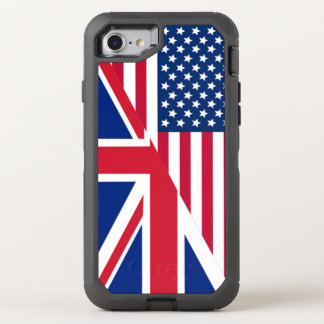 American Union Jack Flag OtterBox Defender iPhone 7 Case