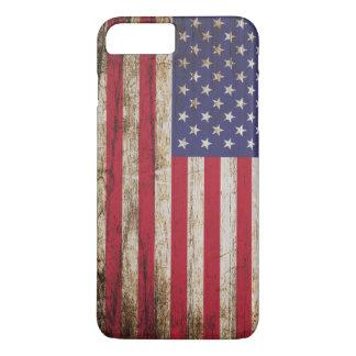 American United States Rustic Flag iPhone 8 Plus/7 Plus Case