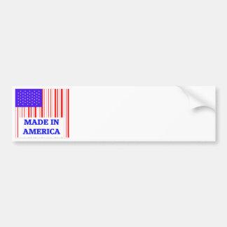 American UPC Bumper Sticker