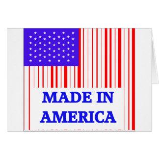 American UPC Greeting Card