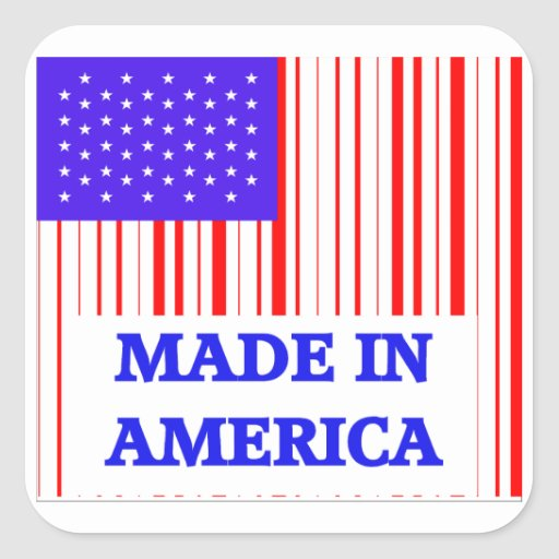 American UPC Stickers