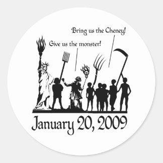 American Uprising Round Sticker