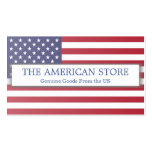 American / US Store - Flag Business Card