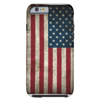 American USA Flag iPhone 6 case Tough iPhone 6 Case