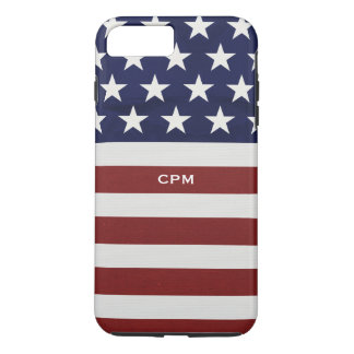American USA Flag Patriotic July 4th Custom iPhone 7 Plus Case