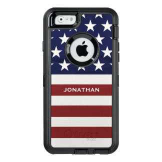 American USA Flag Patriotic July 4th Premium OtterBox iPhone 6/6s Case