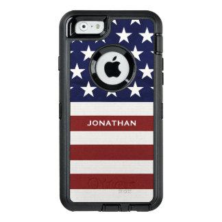 American USA Flag Patriotic July 4th Premium OtterBox iPhone 6/6s Case