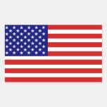 American USA Flag Sticker