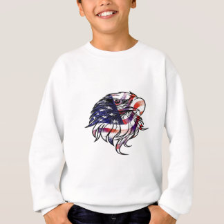 American USA National Flag Eagle Independence Day Sweatshirt