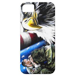 American Veteran Phone Case Bald Eagle. iPhone 5 Case