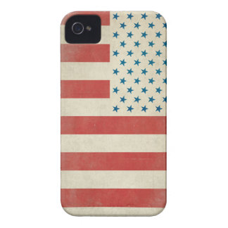 American Vintage Civilian Flag Case-Mate Case iPhone 4 Covers