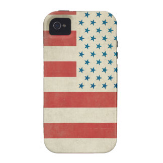 American Vintage Civilian Flag Case-Mate Case Case-Mate iPhone 4 Covers