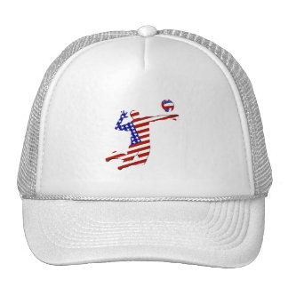 American Volleyball Player Cap
