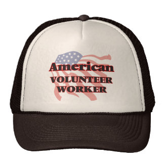 American Volunteer Worker Cap