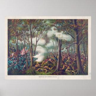 American War of 1812 Battle of Tippecanoe Poster