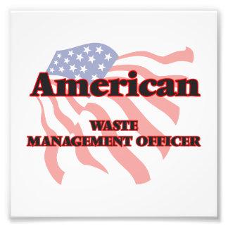 American Waste Management Officer Art Photo