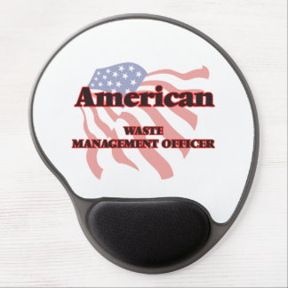 American Waste Management Officer Gel Mouse Pad