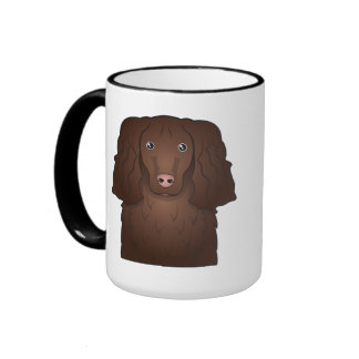 American Water Spaniel Cartoon Coffee Mug